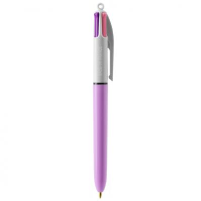 BIC 4 kleuren pen Fashion